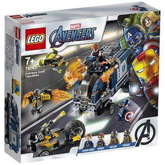 LEGO Super Heroes Marvel 76143 Vengadores: Derribo del Camión
