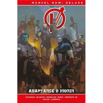 Los Vengadores de Jonathan Hickman 5. Adaptarse o morir