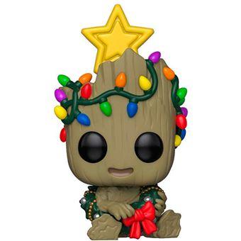 Figura Funko Marvel Guardianes de la Galaxia - Bebé Groot árbol de Navidad - Figura grande - Los mejores precios | Fnac