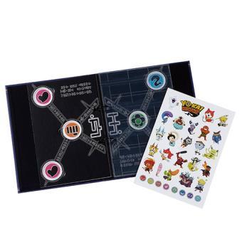 Album de colección de medallas Yokai Watch