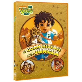 Go Diego Go!: El gran rescate en la jungla - DVD