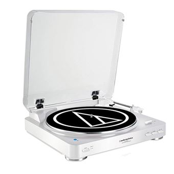 Tocadiscos Bluetooth Audio Technica AT-LP60 Blanco
