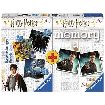 Multipack memory + 3 Puzzles Harry Potter