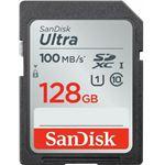 Tarjeta de memoria Sandisk Ultra Flash 128GB Clase 10