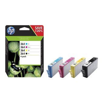 Cartucho de tinta HP 364 Negro - Tri-Color