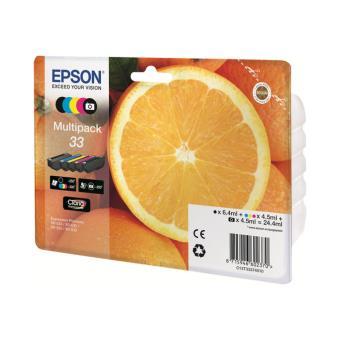 Pack tinta Epson 33 CMYK/PHBK 5