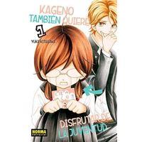 Kageno también quiere disfrutar de la juventud 01