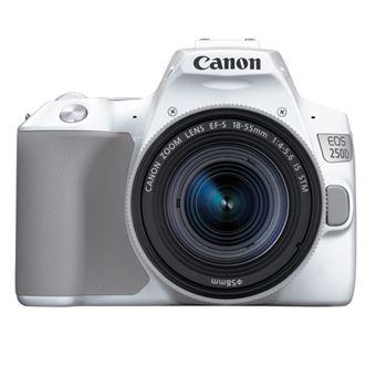 Cámara réflex Canon EOS 250D + 18-55IS STM Blanco