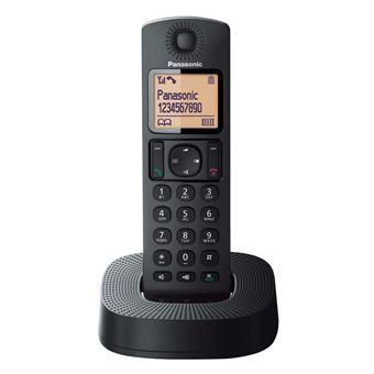 Teléfono inalámbrico Panasonic Dect KXTGC310SPB Negro