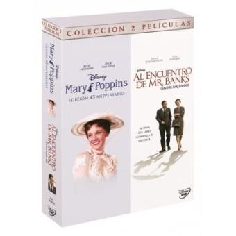 Pack Mary Poppins + Al encuentro de Mr. Banks - DVD