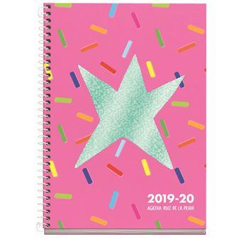 Agenda Miquelrius 2019/20 Semana Vista + Mes Vista Caramelos