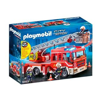 Playmobil City Action Camión de bomberos con escalera