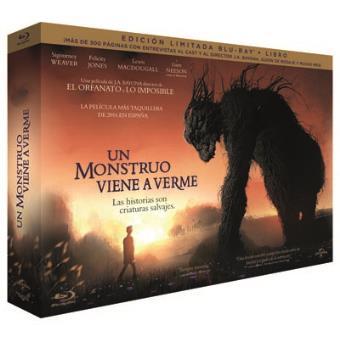 Un monstruo viene a verme -  Ed limitada Blu-Ray + Libro