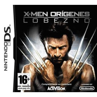 X-Men Los Orígenes: Lobezno Nintendo DS