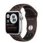 Correa deportiva Nike Sport Gris hierro/Negro para Apple Watch 40mm