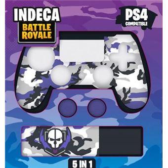 Kit protector 5 en 1 Indeca Battle Royale PS4
