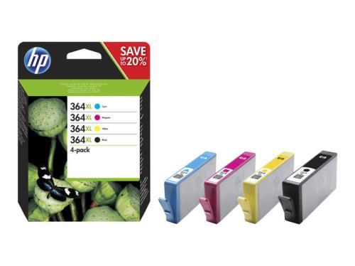 HP N9J74AE - Pack de ahorro de 4 cartuchos de tinta original