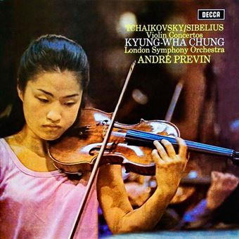 Tchaikovsky - Sibelius - Violin Concertos - Vinilo