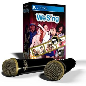 We Sing + 2 Micrófonos PS4
