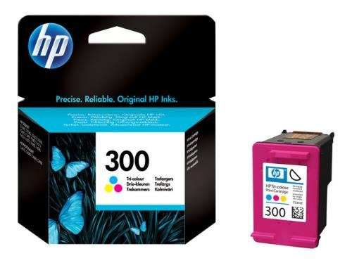HP 300 Tinta tricolor