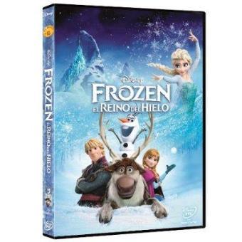 Frozen: El reino de hielo - DVD