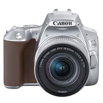 Cámara réflex Canon EOS 250D + 18-55IS STM Plata