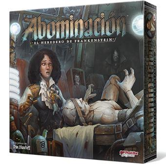 Abominación: El heredero de Frankenstein - Tablero