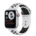 Apple Watch S6 Nike 40mm LTE Caja de aluminio Gris espacial y correa Nike Sport Platino Puro/Negro