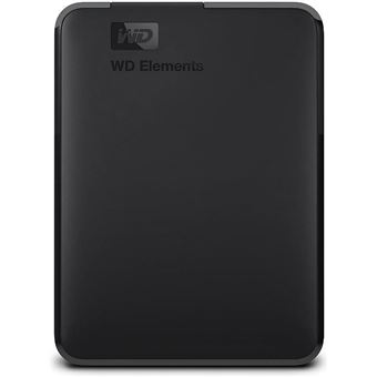 Disco duro portátil WD Elements Portable 2.5'' 4TB Negro