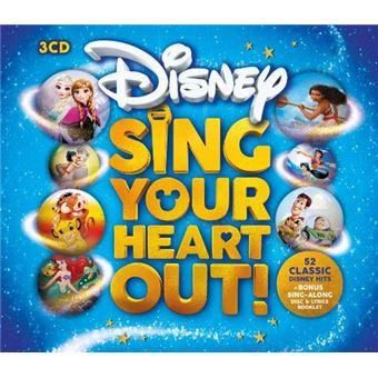 Box Set Sing Your Heart  - 52 Disney Classic Hits - 3 CD