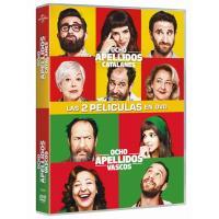 Pack Ocho apellidos vascos + Ocho apellidos catalanes - DVD