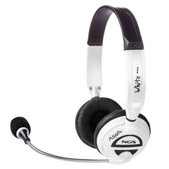 Headset gaming NGS MSX6 Blanco