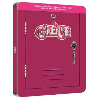 Grease 1 y 2 - Ed conmemorativa 40 aniversario - Steelbook Blu-Ray