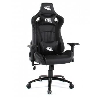 Silla gaming 1337 Industries GC890/BR Negro