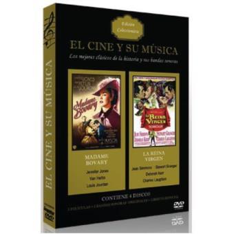 Pack El cine y su música: Madame Bovary + La reina virgen + Bandas sonoras + 2 Libretos - DVD