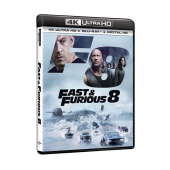 A todo gas - Fast and Furious 8 - UHD + Blu-Ray