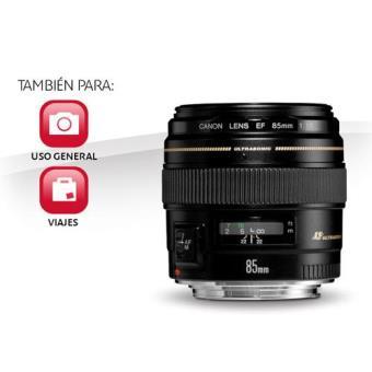 Objetivo Canon EF 85mm f1.8 USM