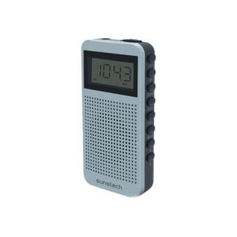 Radio Portátil Sunstech RPDS12 AM/FM Plata