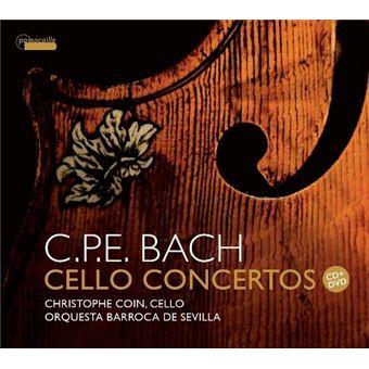 C.P.E. Bach : Concertos pour violoncelle - CD + DVD
