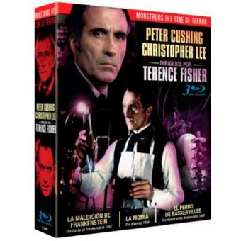 Pack Terence Fisher. Monstruos del cine de terror - Blu-Ray