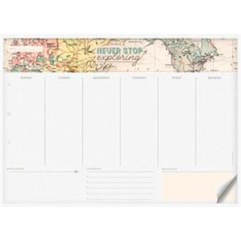 Planificador semanal de mesa Legami Map