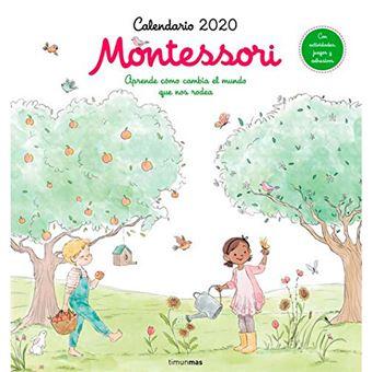 Calendario 2020 Montessori
