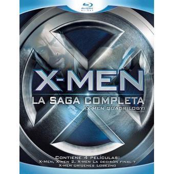 Pack X-Men: Quadrilogy - Blu-Ray