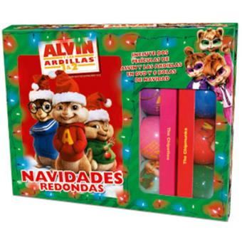 Pack Alvin y las ardillas + Alvin y las ardillas 2 + 6 bolas de Navidad - DVD