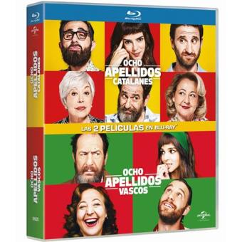 Pack Ocho apellidos vascos + Ocho apellidos catalanes - Blu-Ray