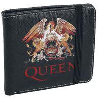Monedero Queen Classic Crest Negro