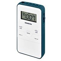 Radio Sangean Pocket 140 Blanco/Azul