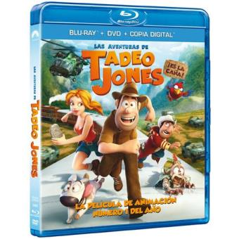 Las aventuras de Tadeo Jones - Blu-Ray + DVD + Copia digital