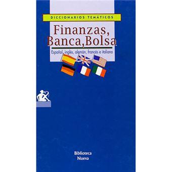 Finanzas, banca, bolsa - Español, inglés, alemán, francés e italiano