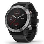 Smartwatch Garmin Fénix 6 Plata/Negro